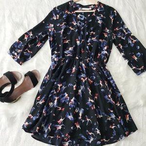 Flirty Surplice Neckline Dress